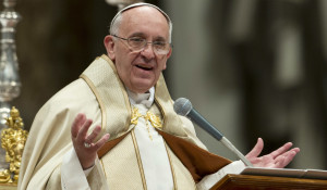Pope Preaching